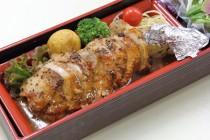 豚挽肉のチキンロール